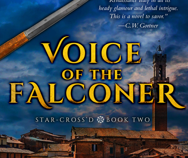 VOICE OF THE FALCONER Cover Reveal!